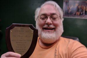 Al Gritzmacher AE2T #1800 with Phoenix Award